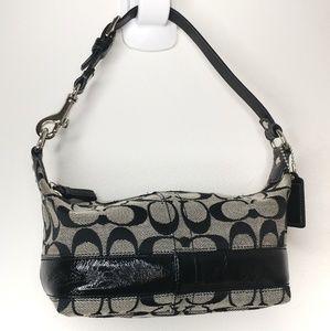 Coach mini signature purse